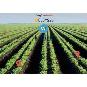Actility - Soil Moisture monitoring kit